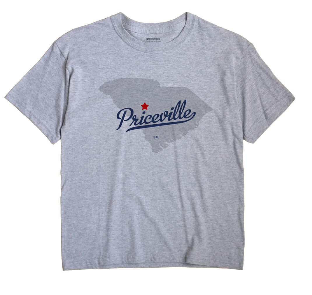 Priceville, South Carolina SC Souvenir Shirt