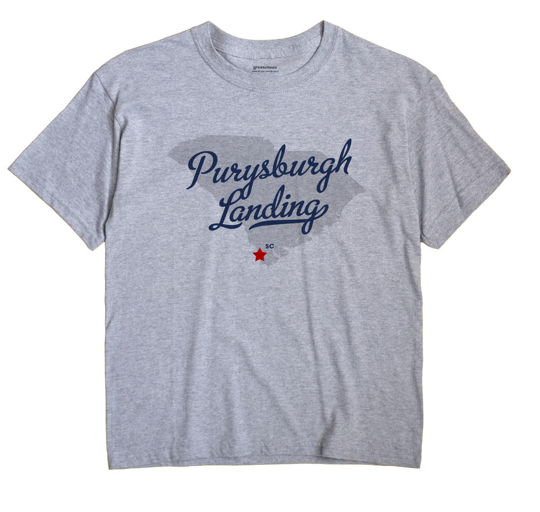Purysburgh Landing, South Carolina SC Souvenir Shirt
