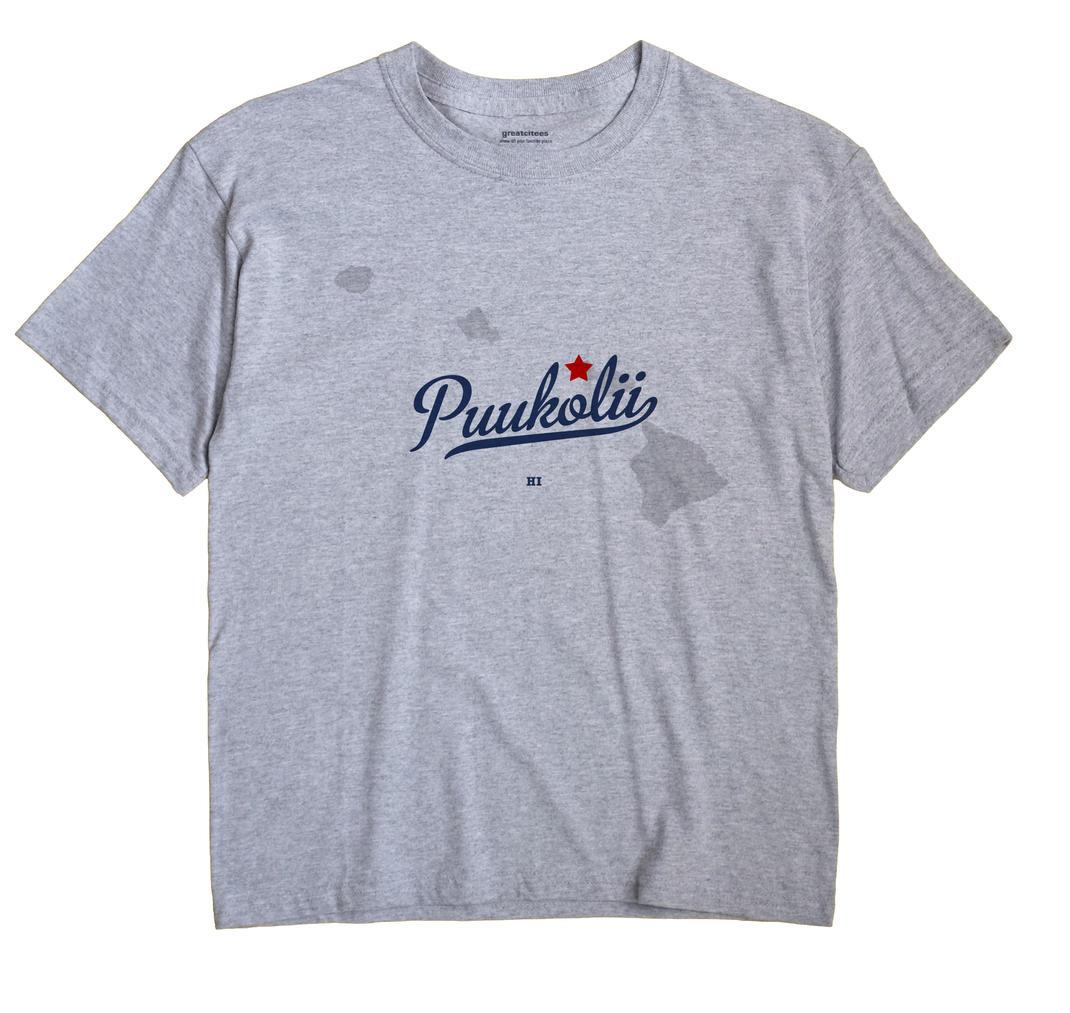 Puukolii, Hawaii HI Souvenir Shirt