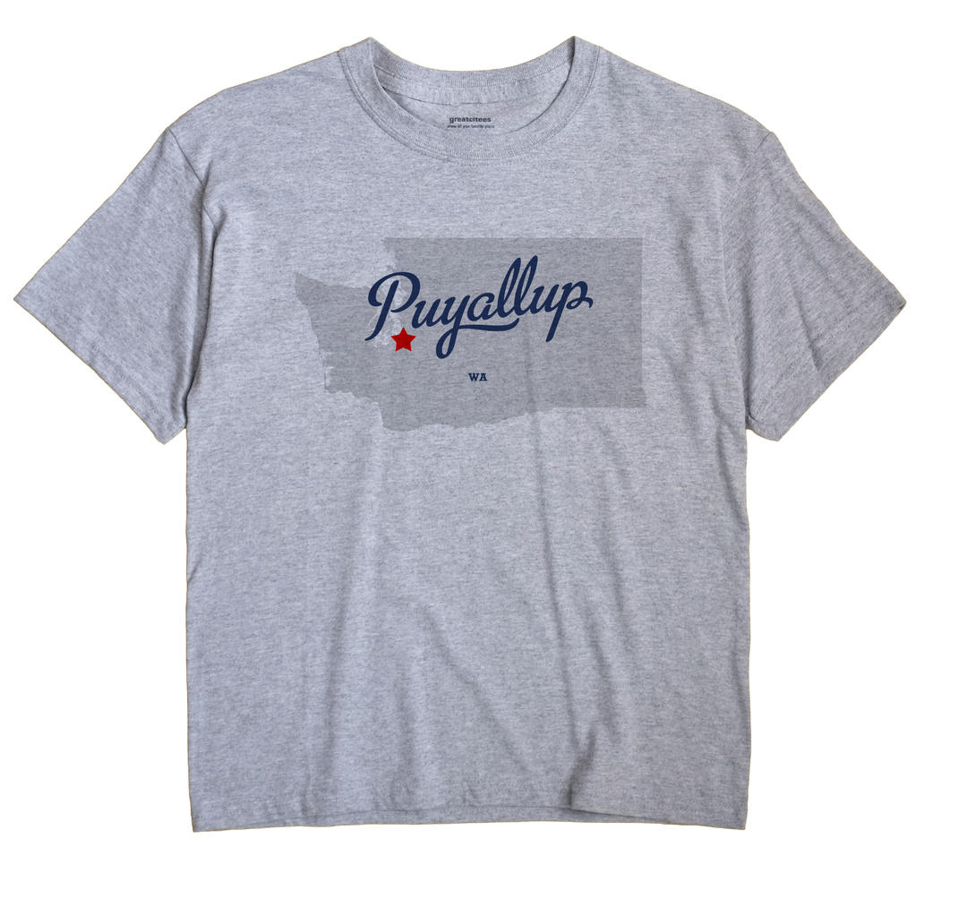 Puyallup, Washington WA Souvenir Shirt