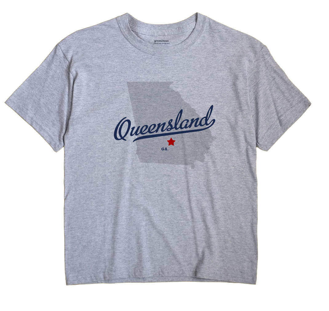 Queensland, Georgia GA Souvenir Shirt
