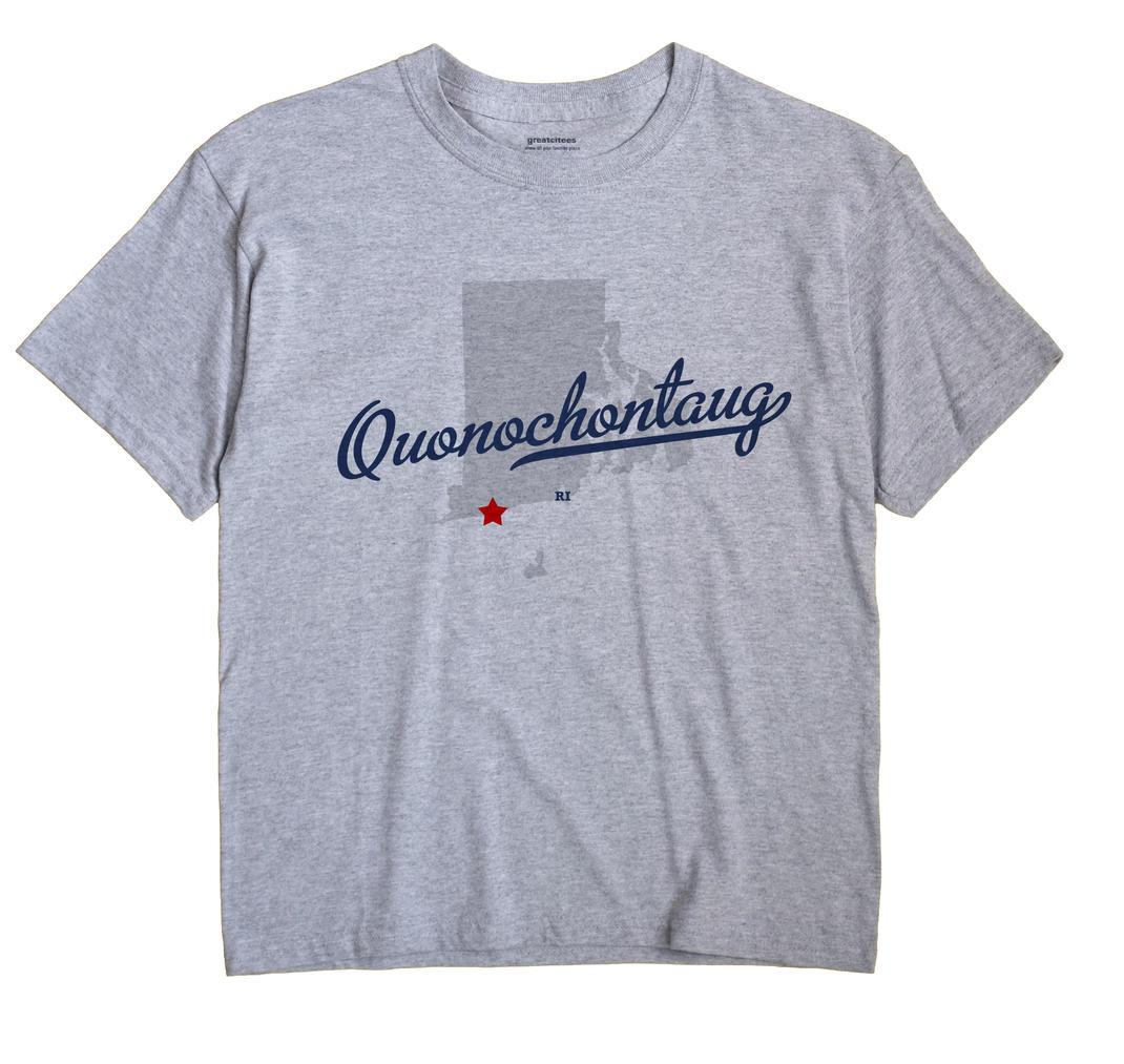 Quonochontaug, Rhode Island RI Souvenir Shirt