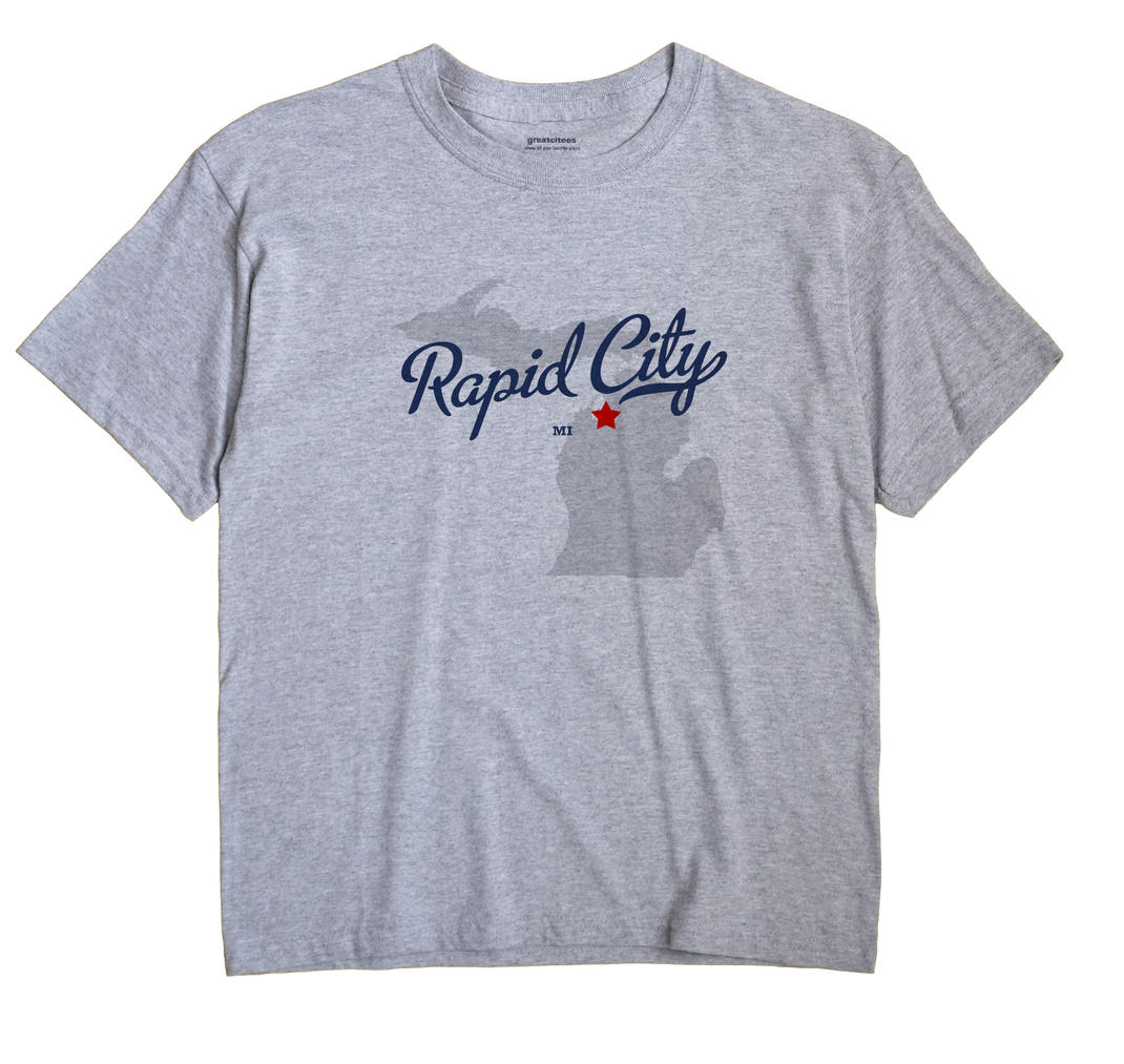 Rapid City, Michigan MI Souvenir Shirt