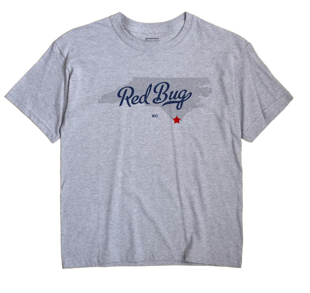 Red Bug, North Carolina NC Souvenir Shirt