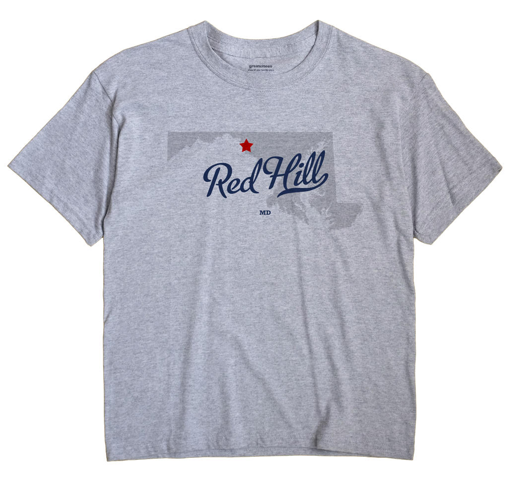 Red Hill, Maryland MD Souvenir Shirt