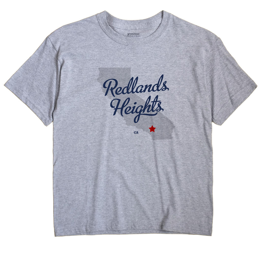 Redlands Heights, California CA Souvenir Shirt