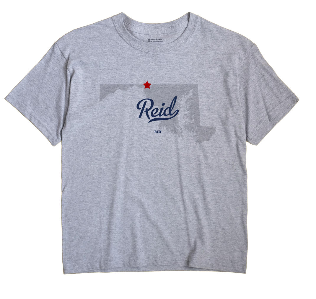 Reid, Maryland MD Souvenir Shirt