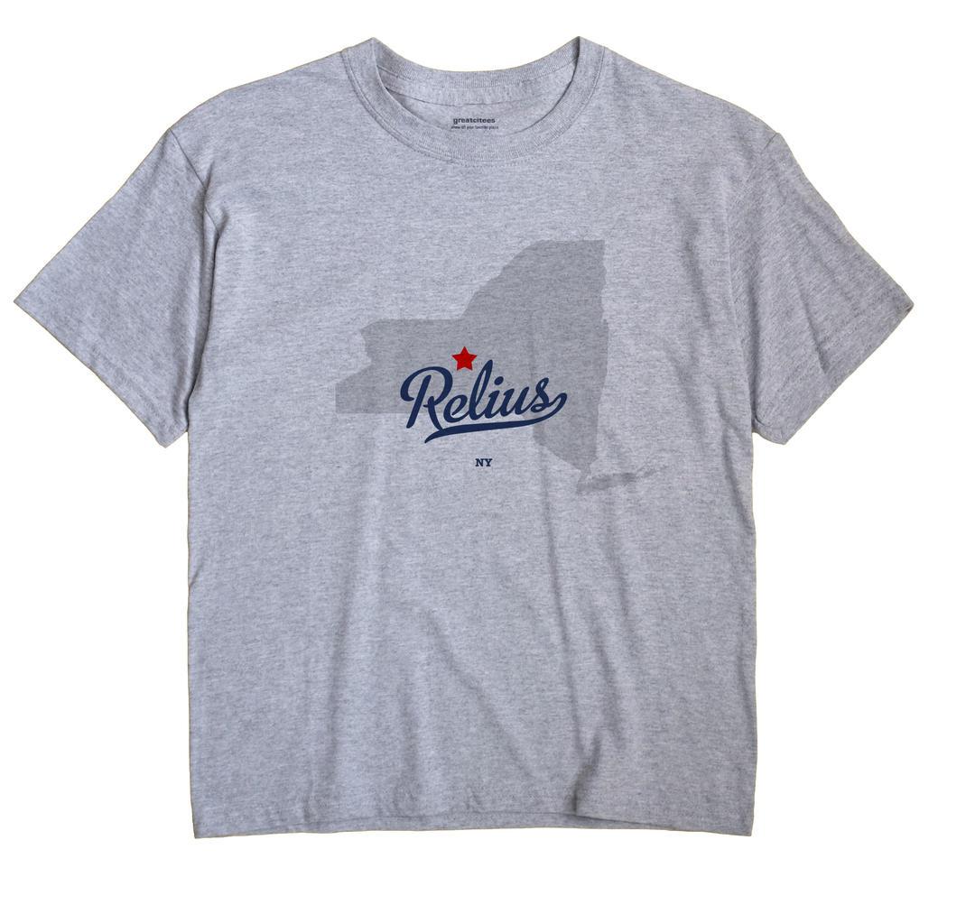 Relius, New York NY Souvenir Shirt
