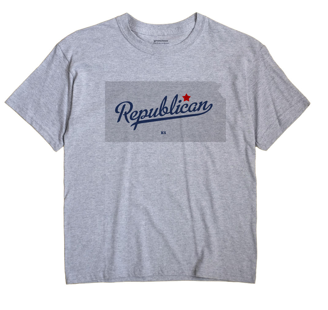 Republican, Kansas KS Souvenir Shirt