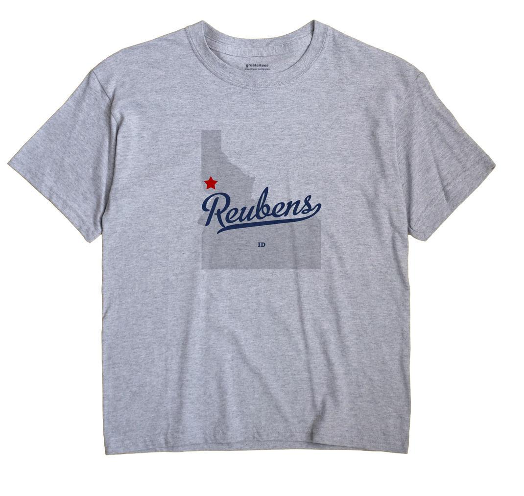 Reubens, Idaho ID Souvenir Shirt
