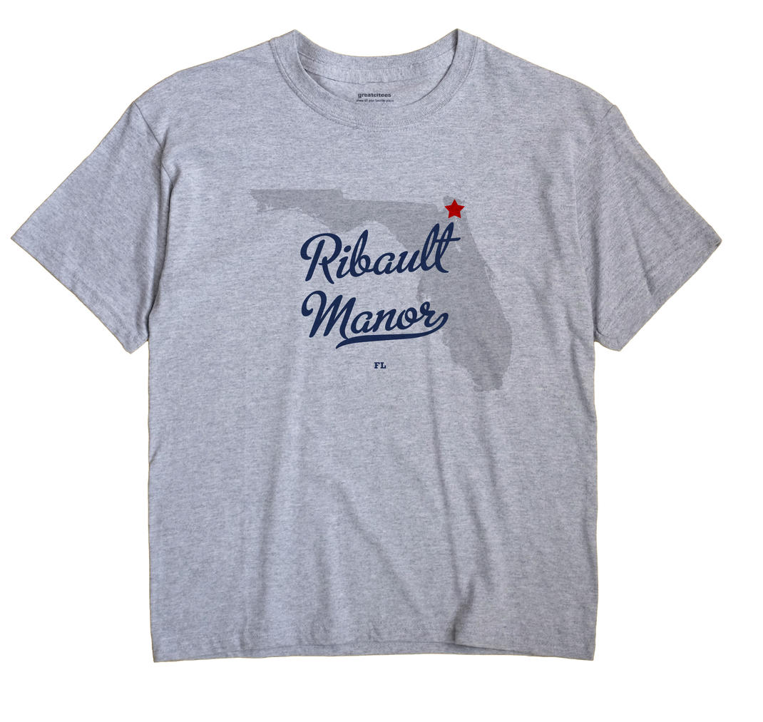 Ribault Manor, Florida FL Souvenir Shirt