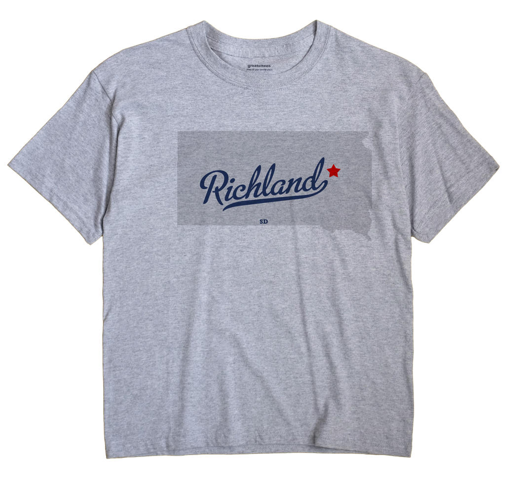 Richland, Clark County, South Dakota SD Souvenir Shirt