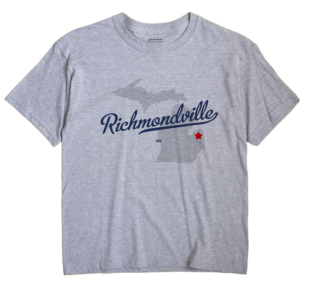Richmondville, Michigan MI Souvenir Shirt