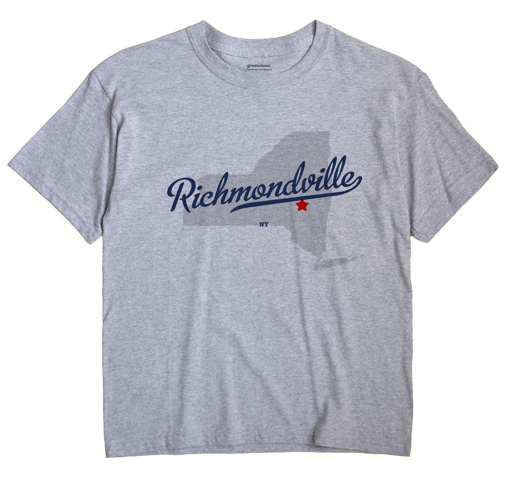 Richmondville, New York NY Souvenir Shirt