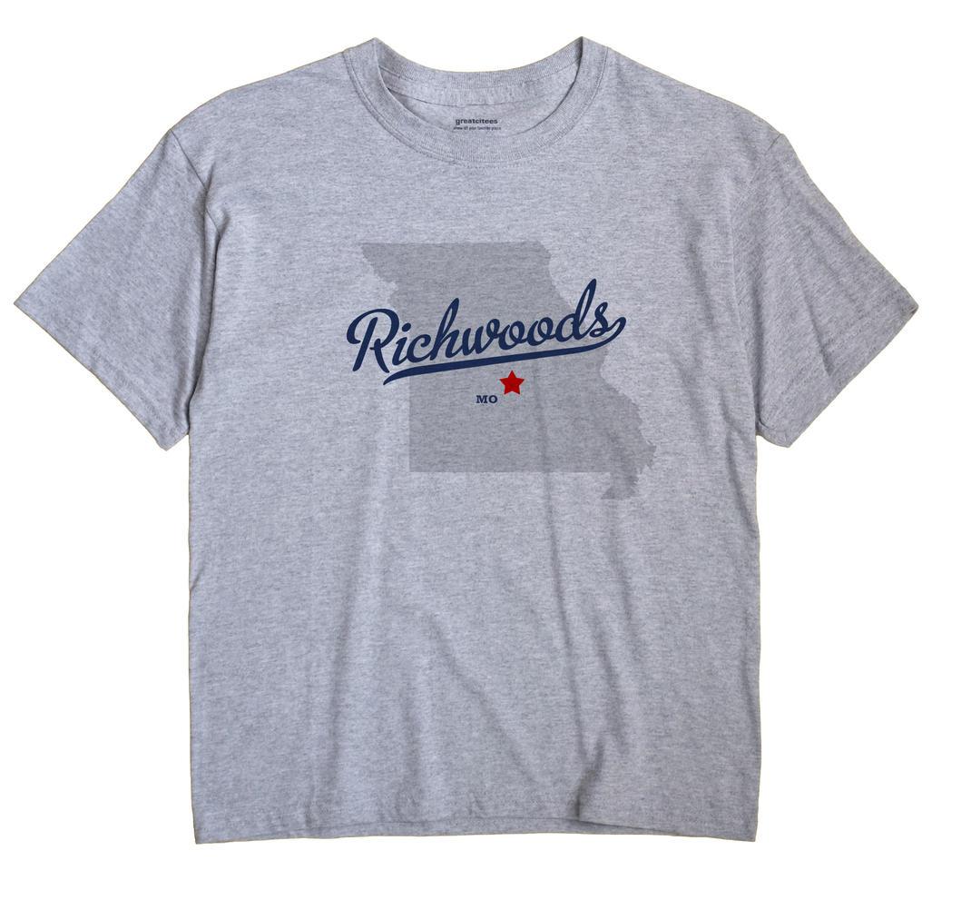 Richwoods, Miller County, Missouri MO Souvenir Shirt