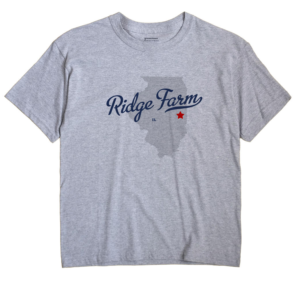 Ridge Farm, Illinois IL Souvenir Shirt