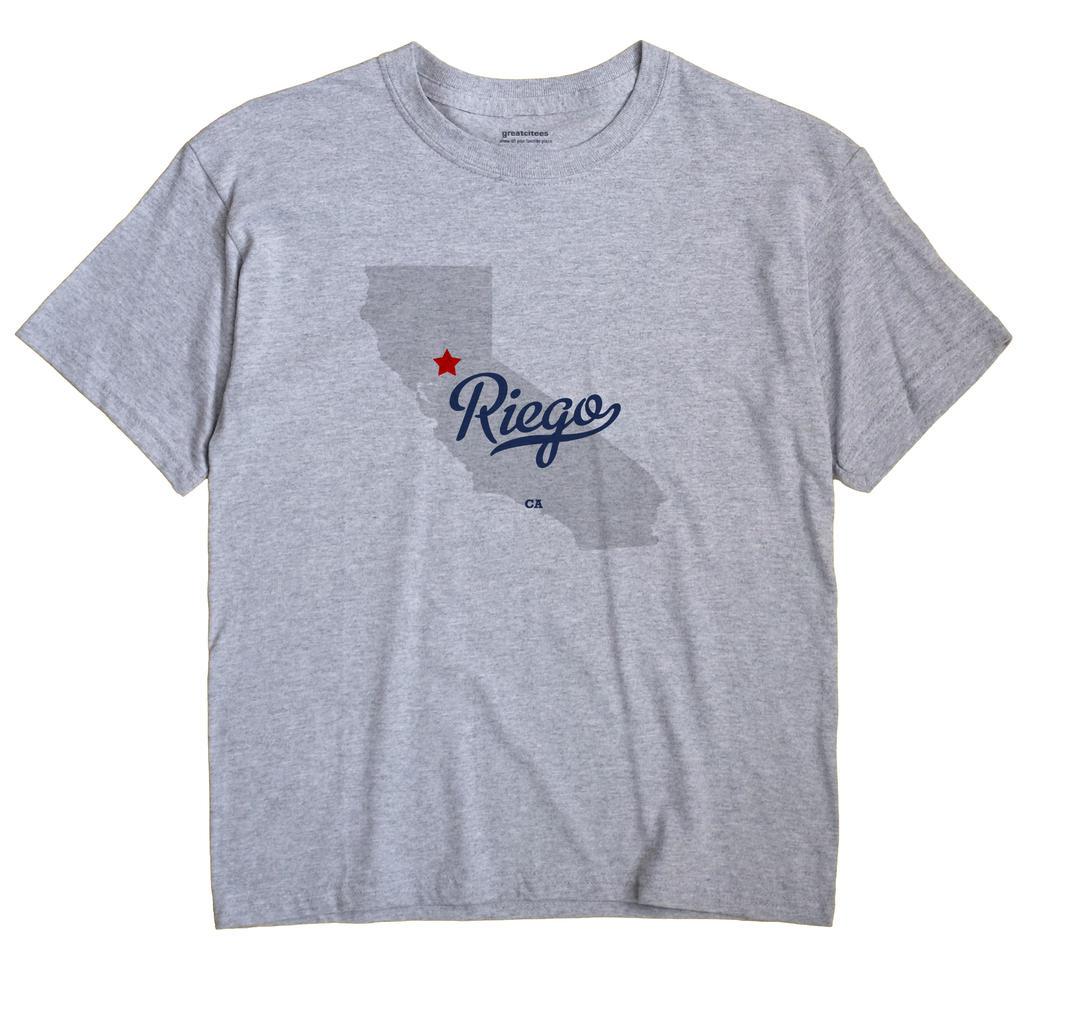 Riego, California CA Souvenir Shirt