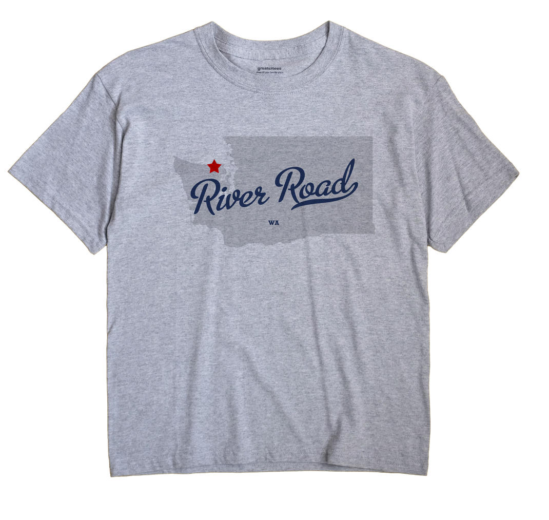 River Road, Washington WA Souvenir Shirt