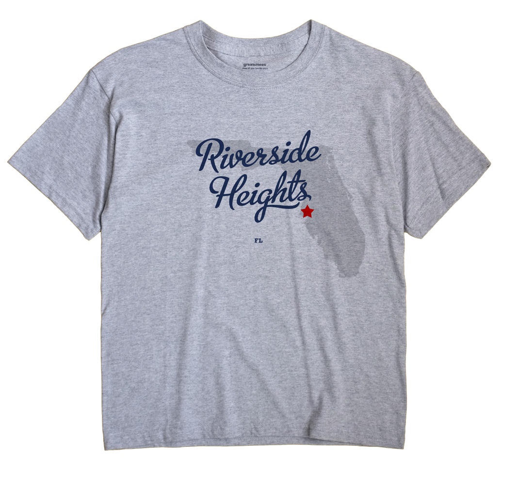 Riverside Heights, Florida FL Souvenir Shirt