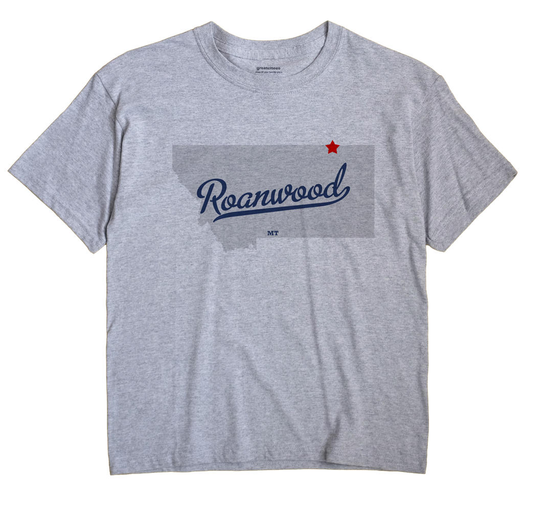 Roanwood, Montana MT Souvenir Shirt