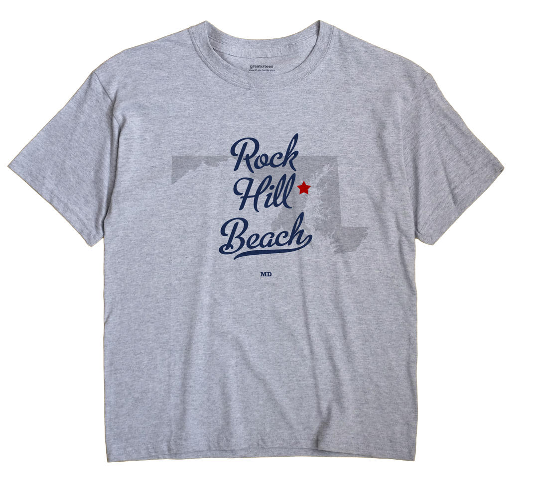 Rock Hill Beach, Maryland MD Souvenir Shirt