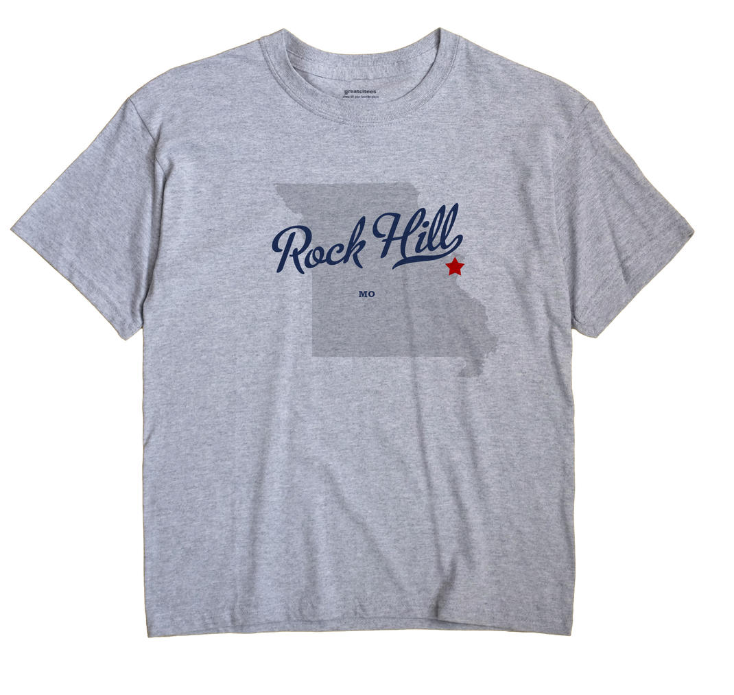 Rock Hill, Missouri MO Souvenir Shirt