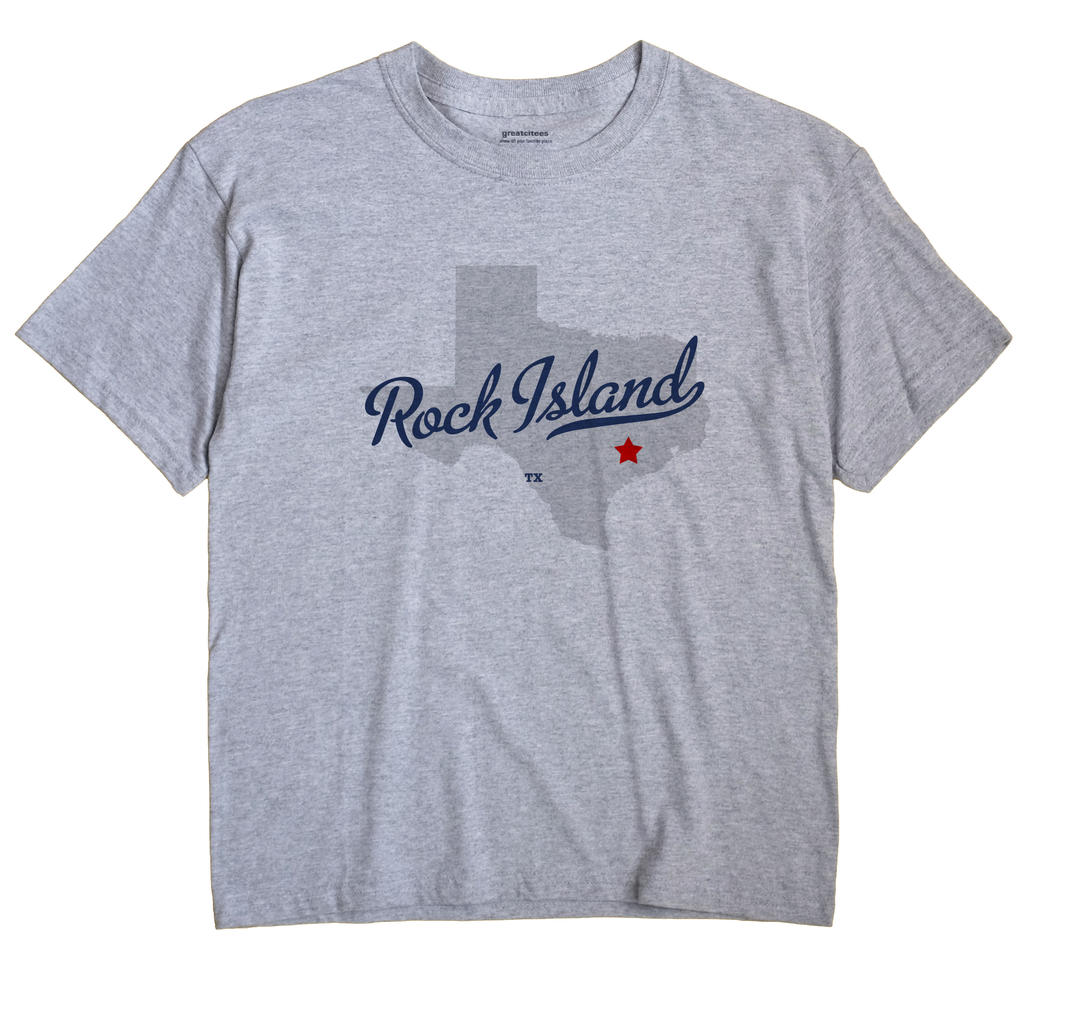 Rock Island, Texas TX Souvenir Shirt