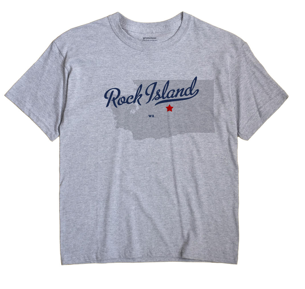 Rock Island, Washington WA Souvenir Shirt