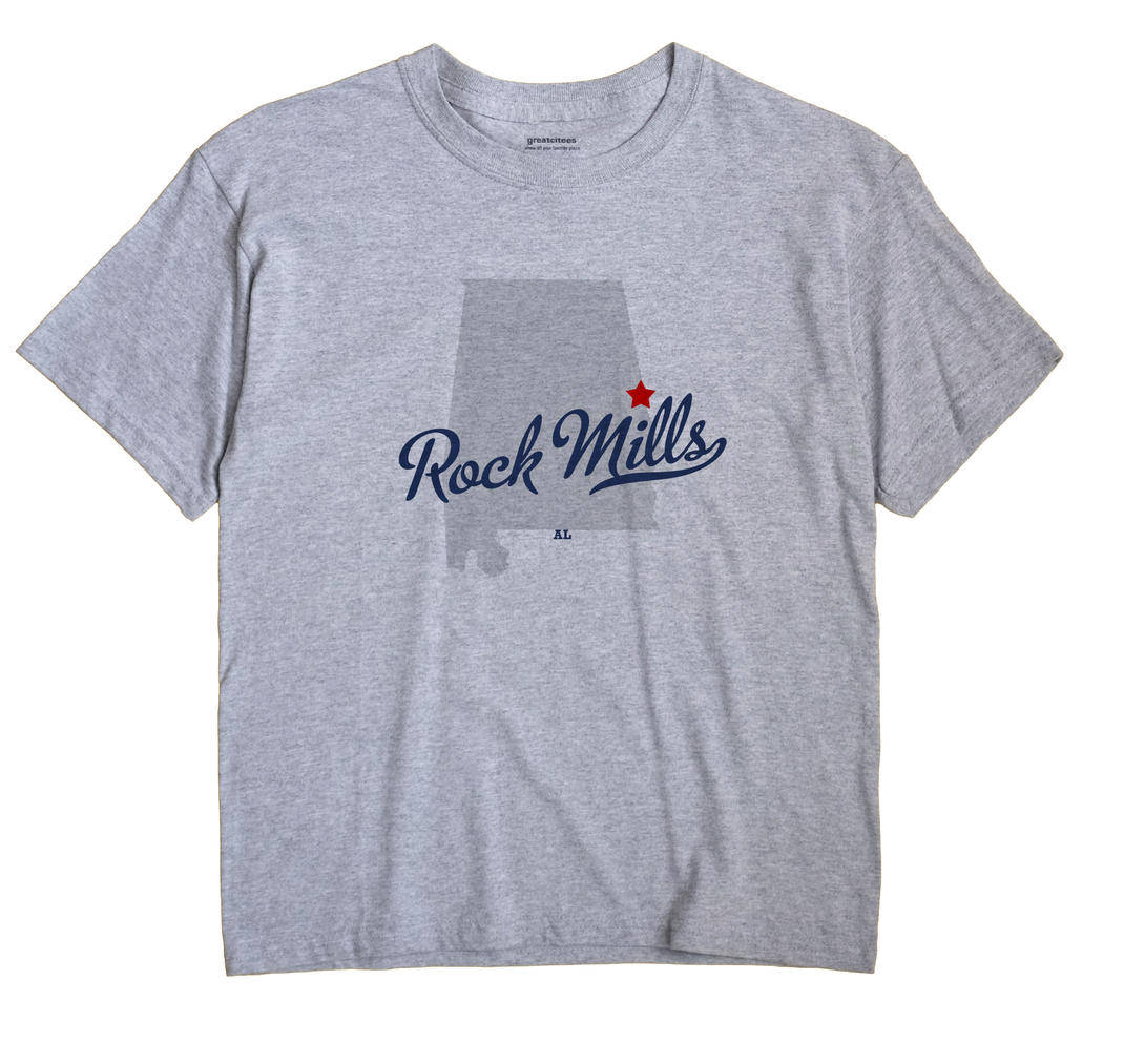 Rock Mills, Alabama AL Souvenir Shirt