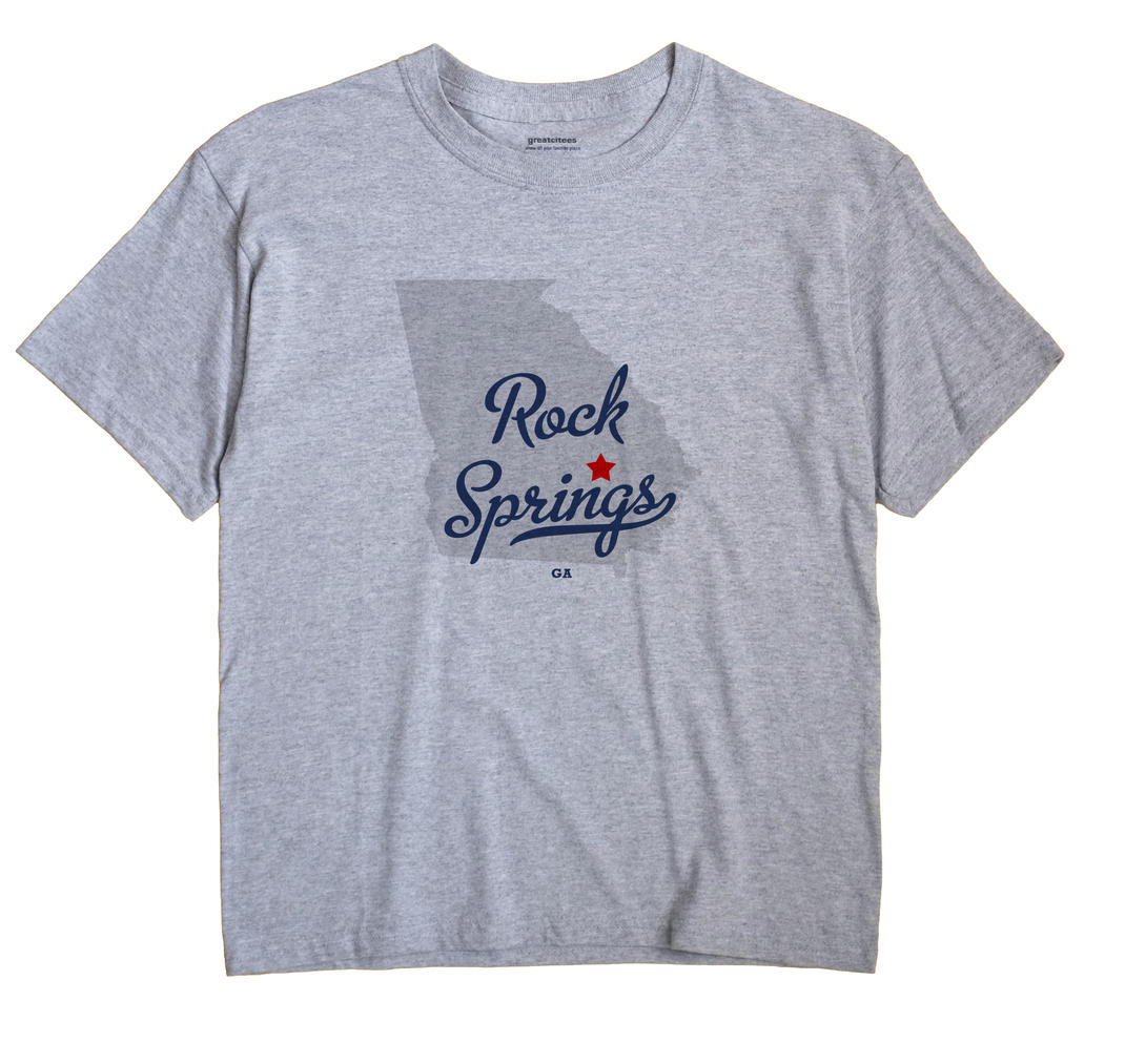 Rock Springs, Georgia GA Souvenir Shirt