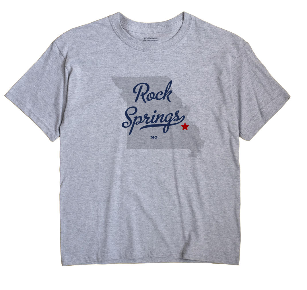 Rock Springs, Missouri MO Souvenir Shirt