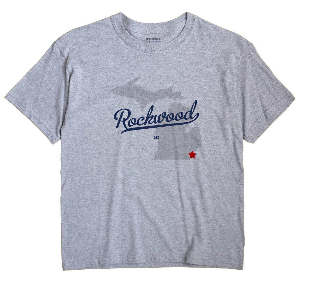 Rockwood, Michigan MI Souvenir Shirt