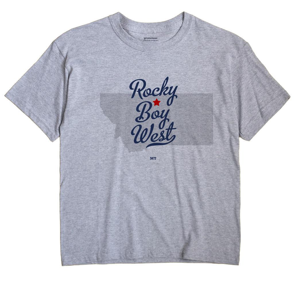 Rocky Boy West, Montana MT Souvenir Shirt