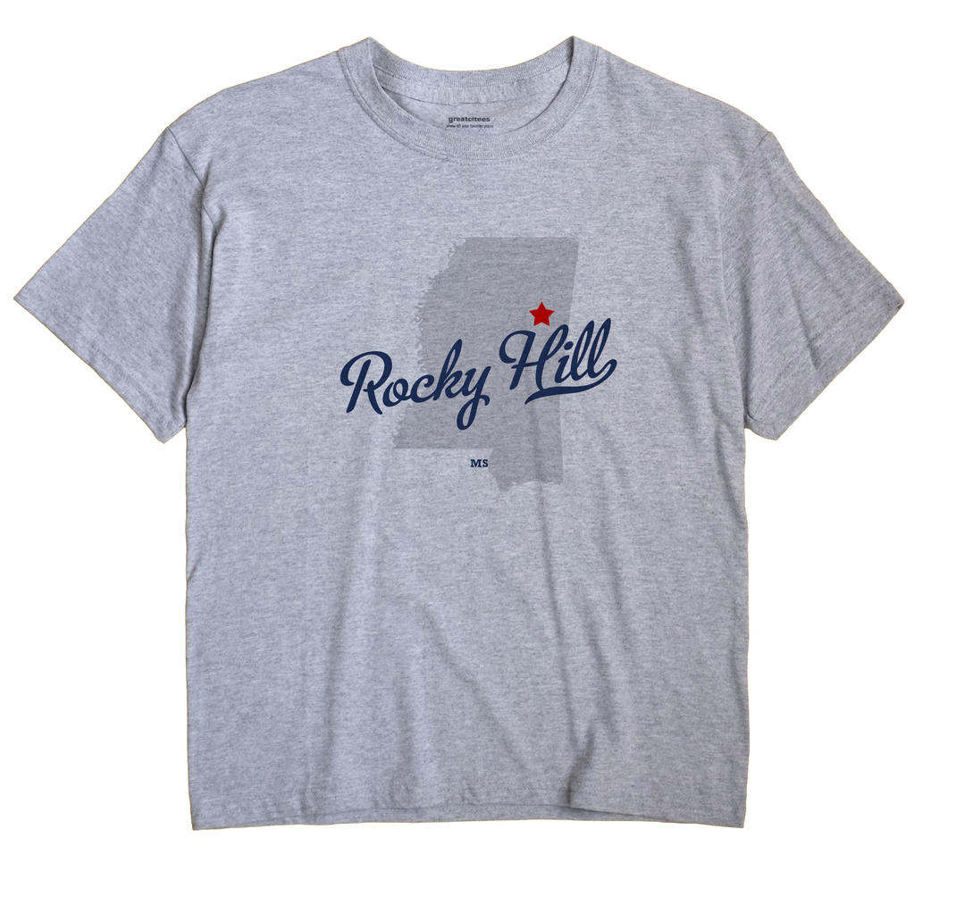 Rocky Hill, Mississippi MS Souvenir Shirt