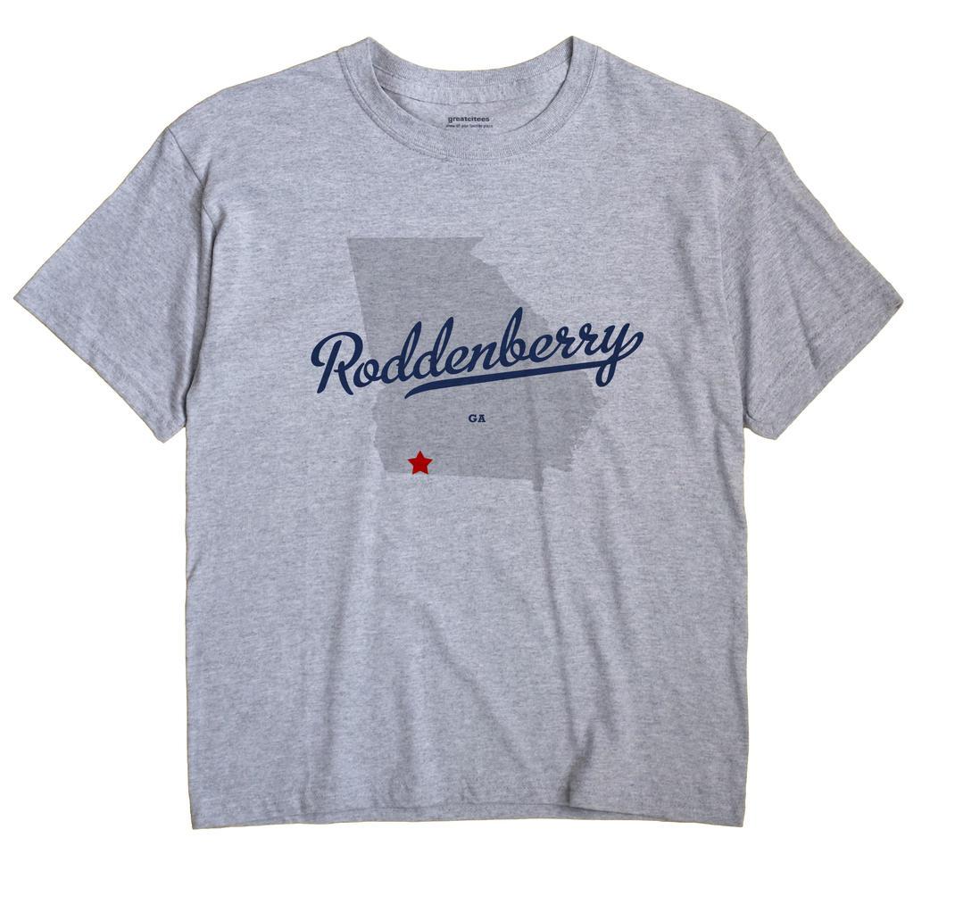 Roddenberry, Georgia GA Souvenir Shirt