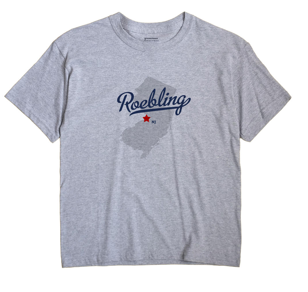 Roebling, New Jersey NJ Souvenir Shirt