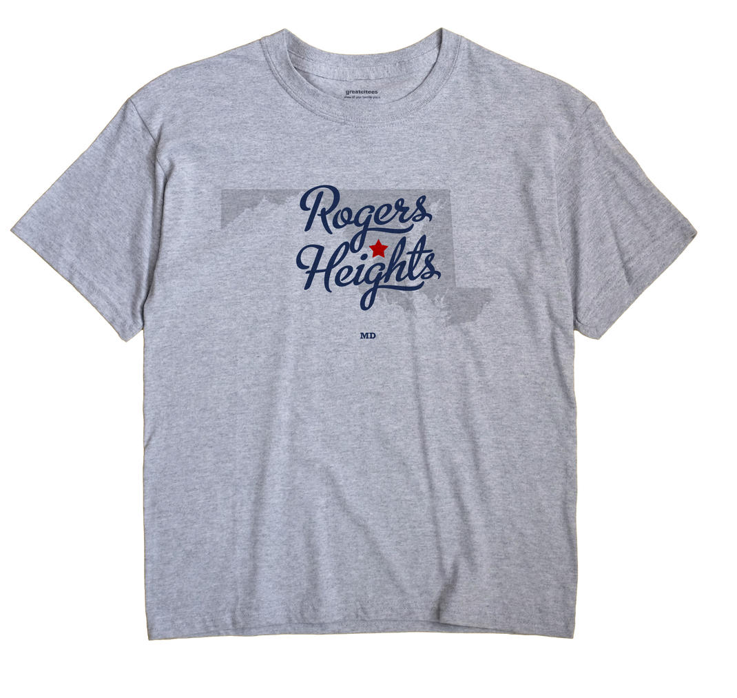 Rogers Heights, Maryland MD Souvenir Shirt