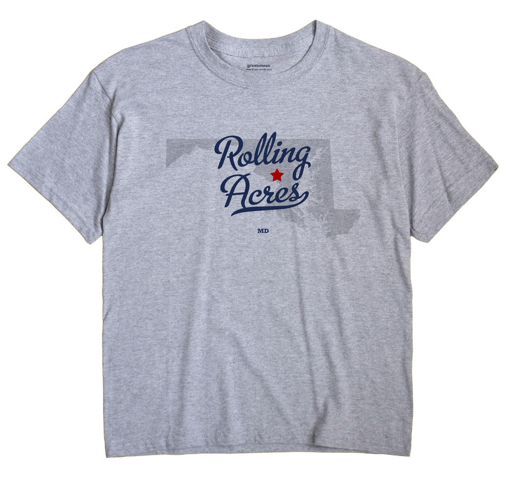 Rolling Acres, Maryland MD Souvenir Shirt