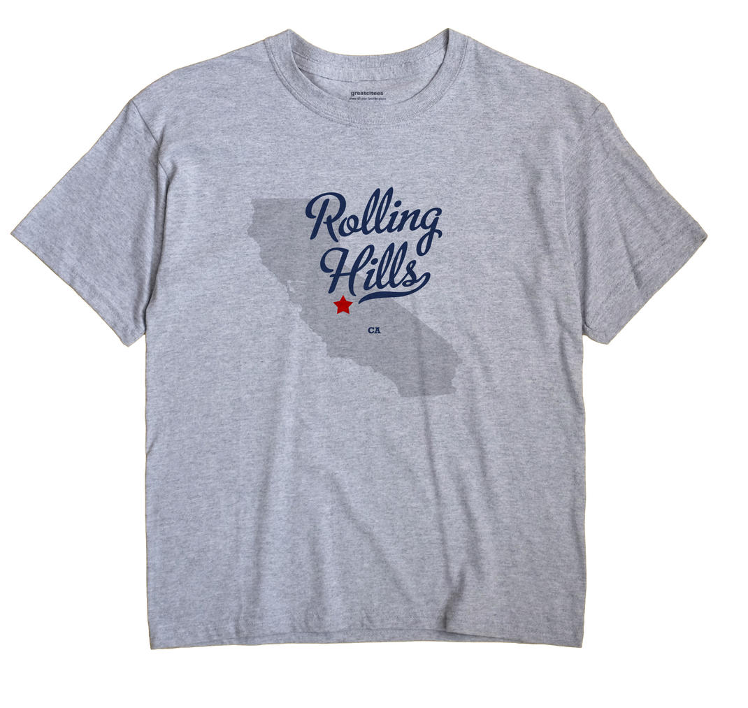 Rolling Hills, Madera County, California CA Souvenir Shirt
