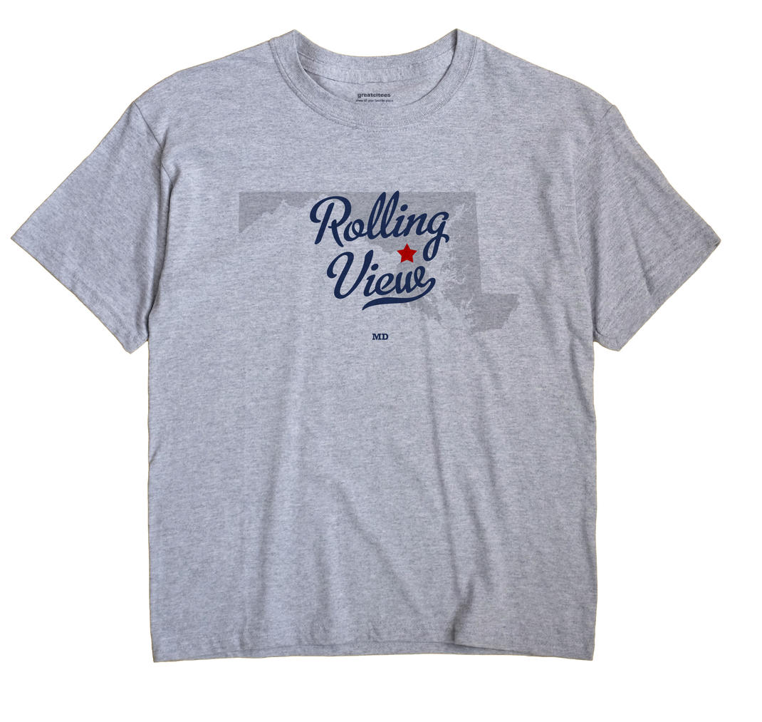 Rolling View, Maryland MD Souvenir Shirt