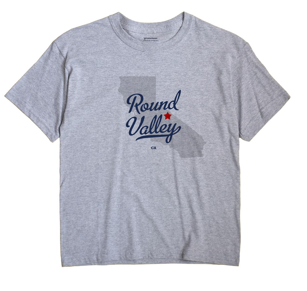 Round Valley, California CA Souvenir Shirt