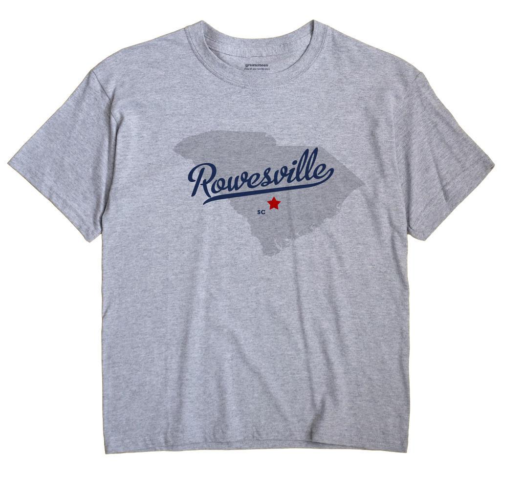 Rowesville, South Carolina SC Souvenir Shirt