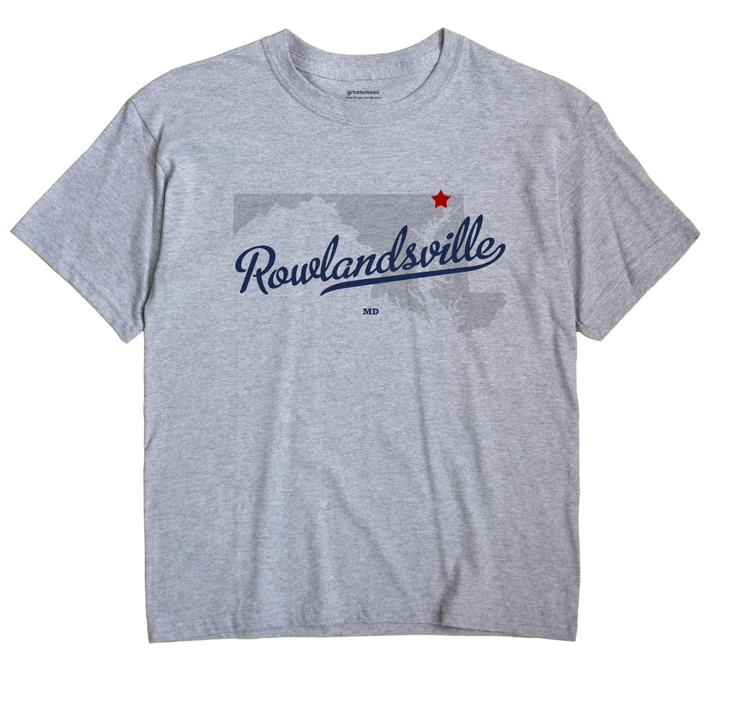 Rowlandsville, Maryland MD Souvenir Shirt