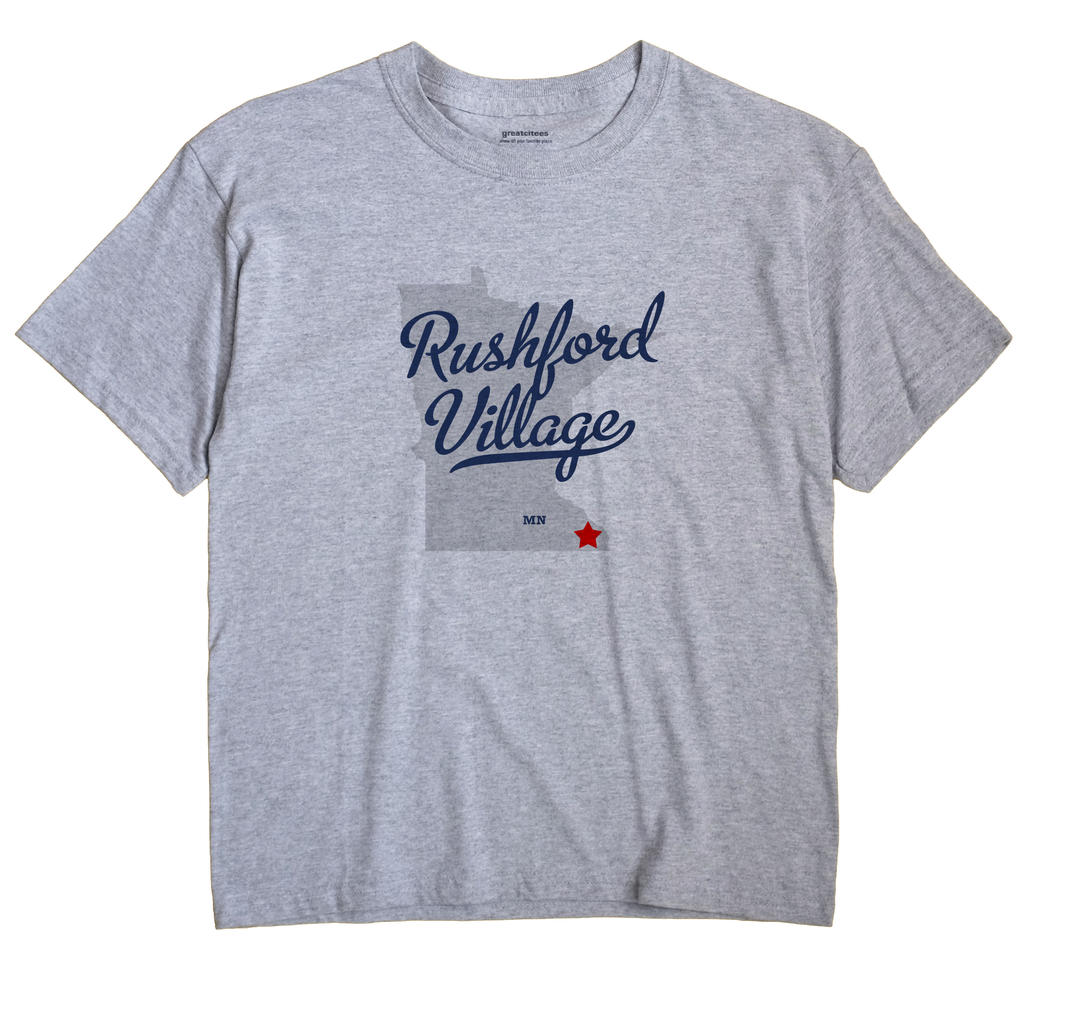 Rushford Village, Minnesota MN Souvenir Shirt