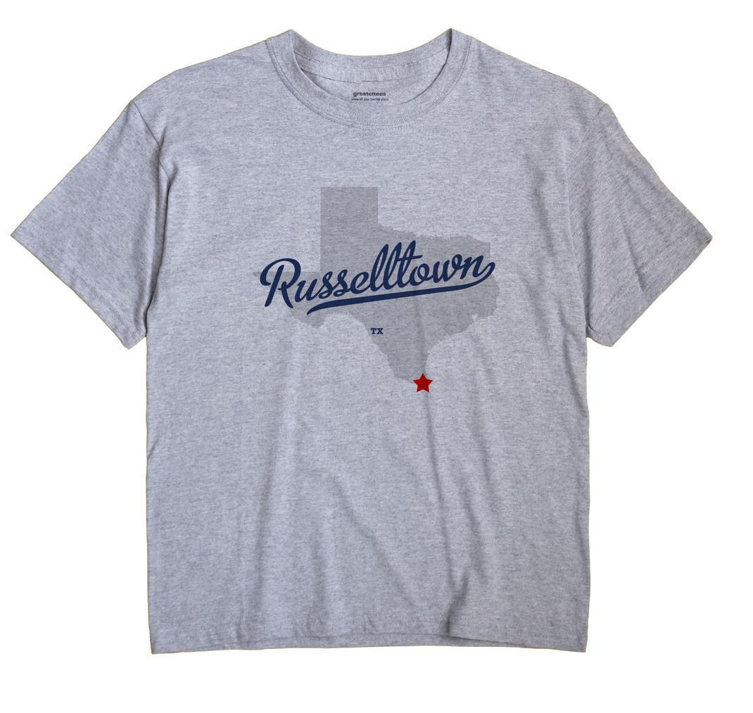 Russelltown, Texas TX Souvenir Shirt