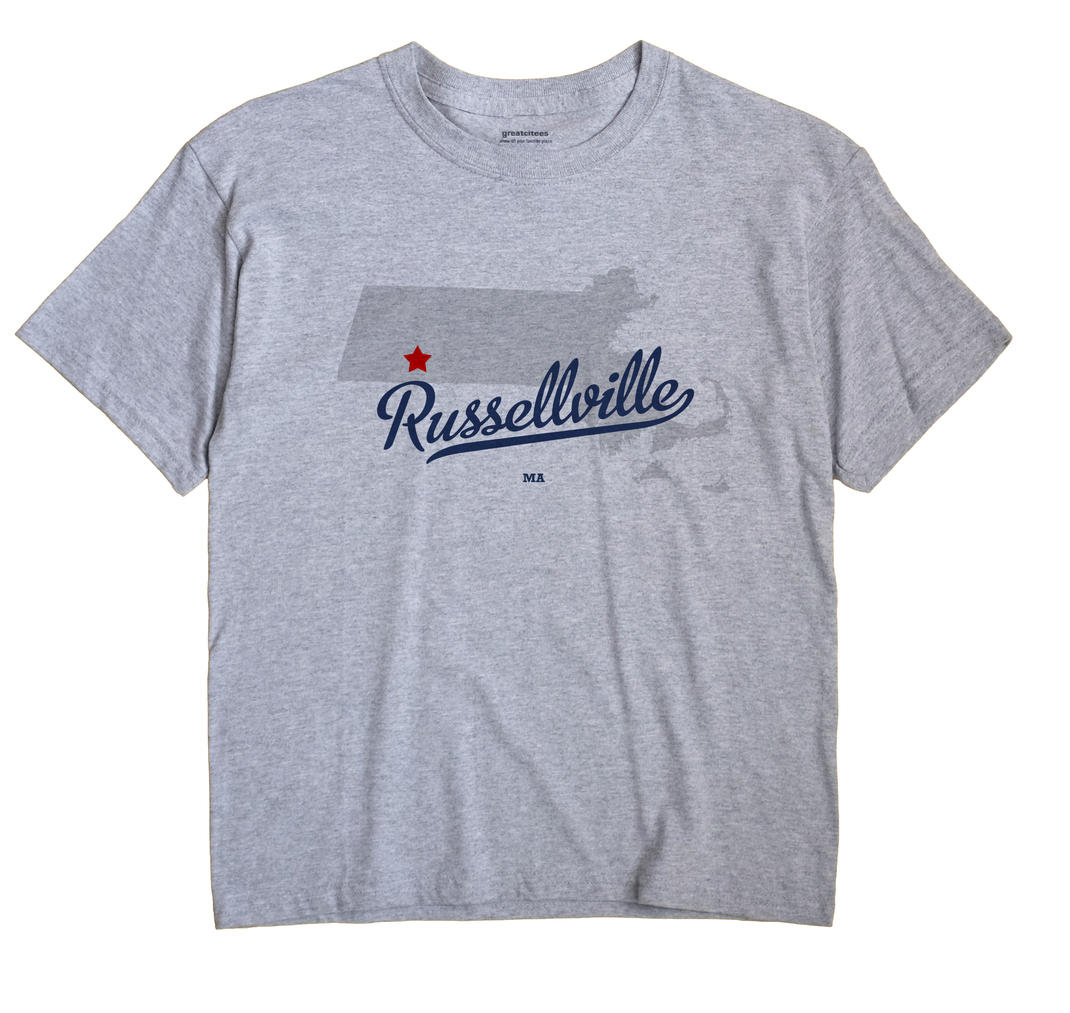 Russellville, Massachusetts MA Souvenir Shirt