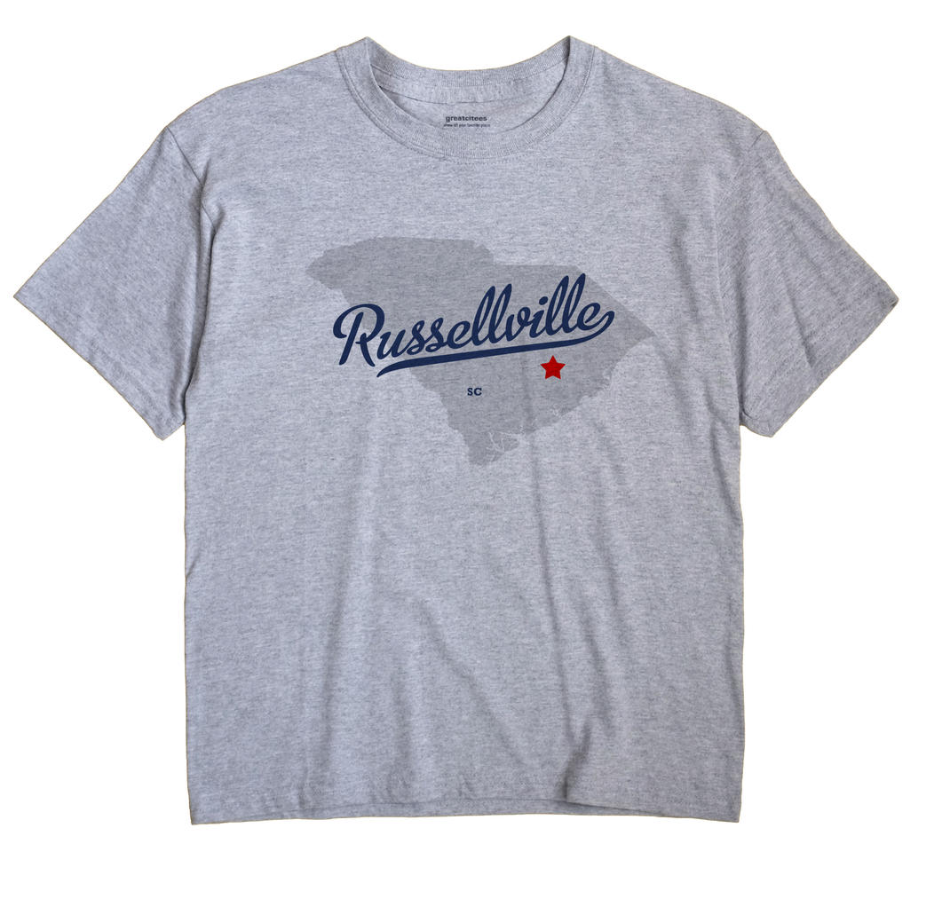 Russellville, South Carolina SC Souvenir Shirt