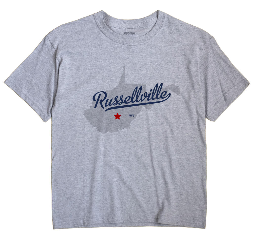 Russellville, West Virginia WV Souvenir Shirt