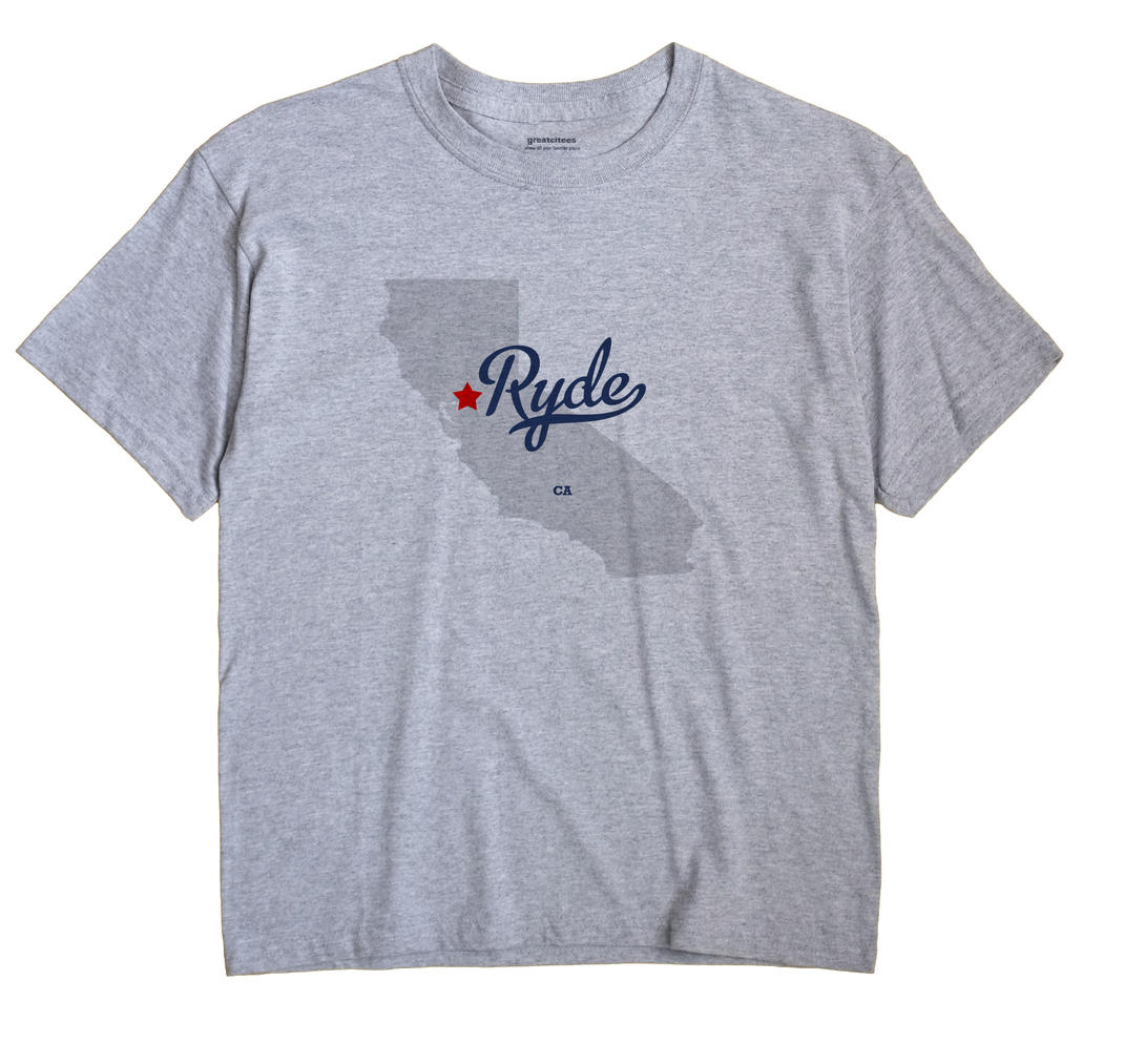 Ryde, California CA Souvenir Shirt