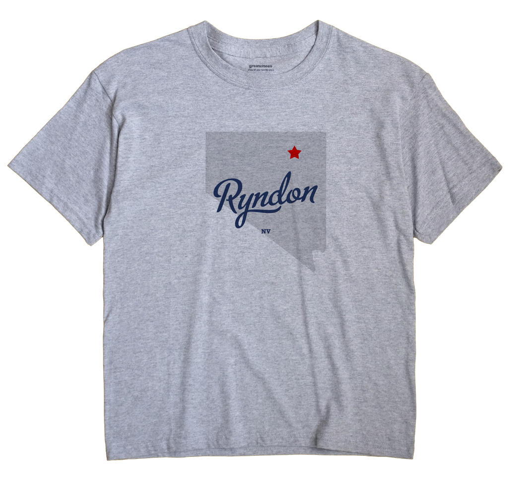 Ryndon, Nevada NV Souvenir Shirt